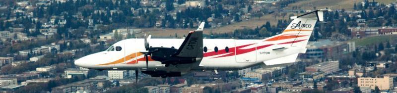 Beechcraft 1900D 19 passenger plane