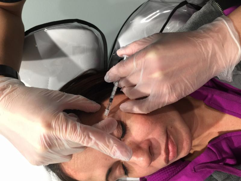 Botox:     We use real Botox