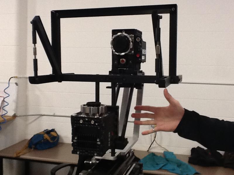 3D Camera fixture