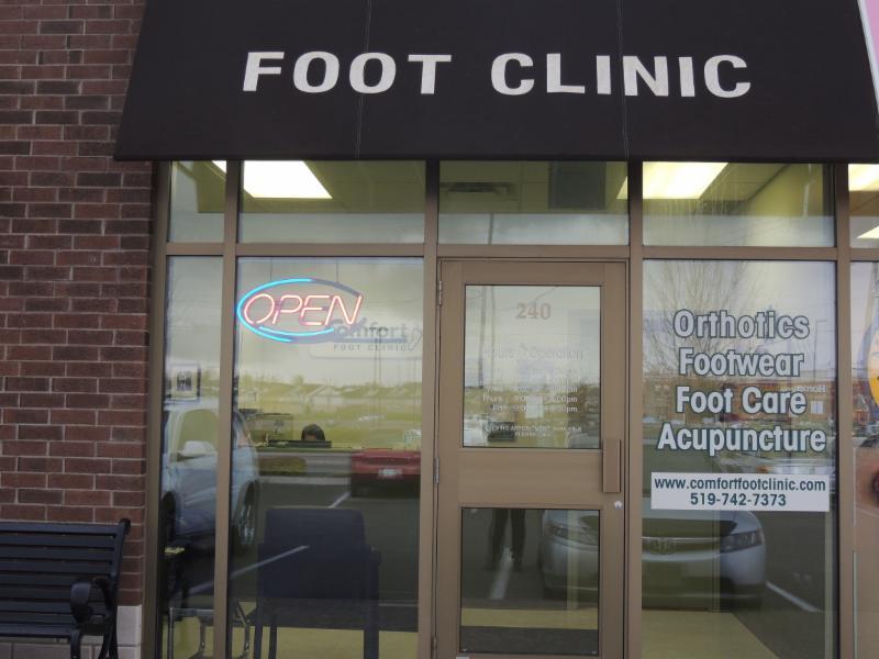 Comfort Foot Clinic Kitchener On 1170 Fischer Hallman
