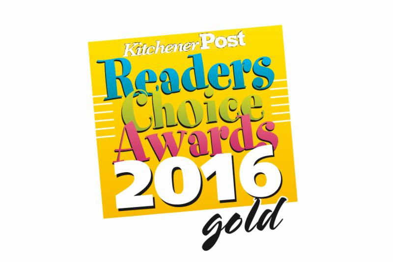 2016 Winner of the Kitchener Post Readers Choice Award! Thank you to all our voters!