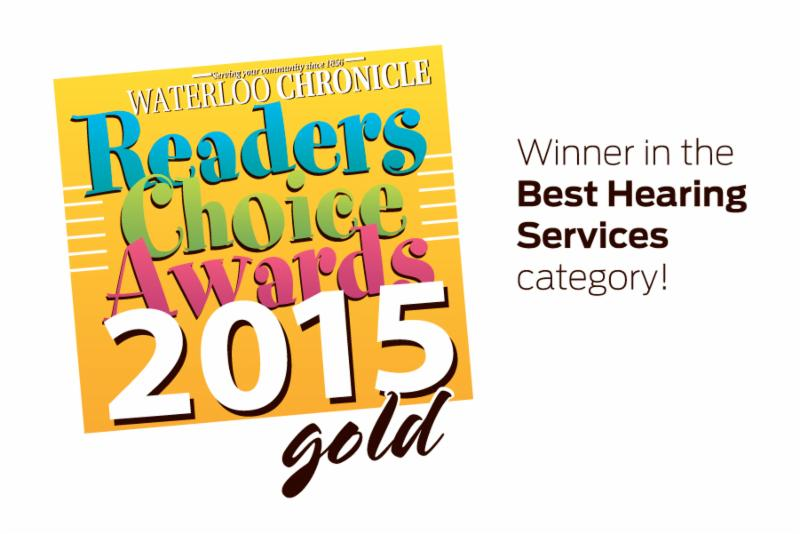 A BIG thank you to all the people who voted for us this year! We are always proud to be part of the Waterloo community, and look forward to continuing helping people of all ages find quality hearing solutions! Thank You!