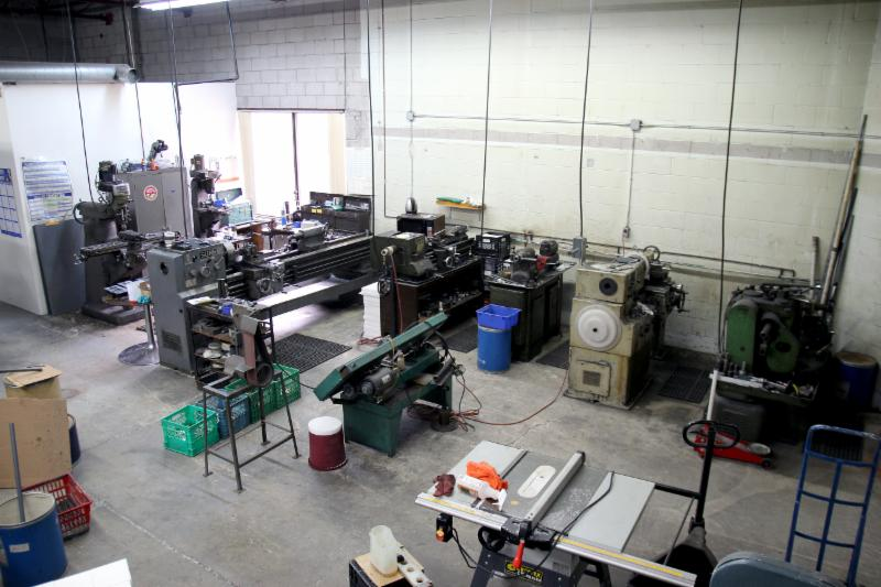 plastics machine shop