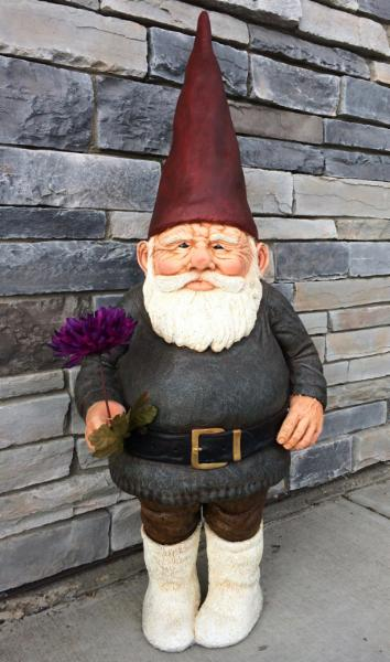 Wilbir is our gnome mascot!