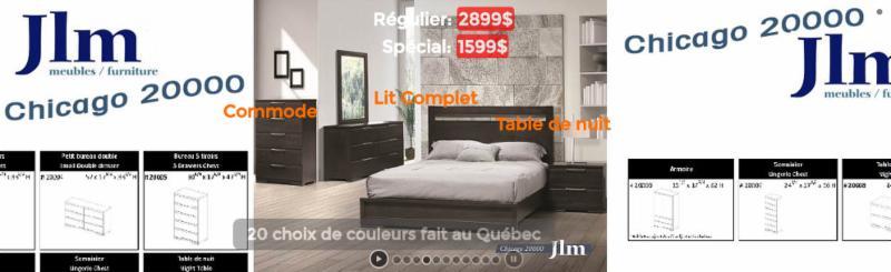Meubles loren inc horaire d 39 ouverture 7592 rue saint for Meuble financement montreal