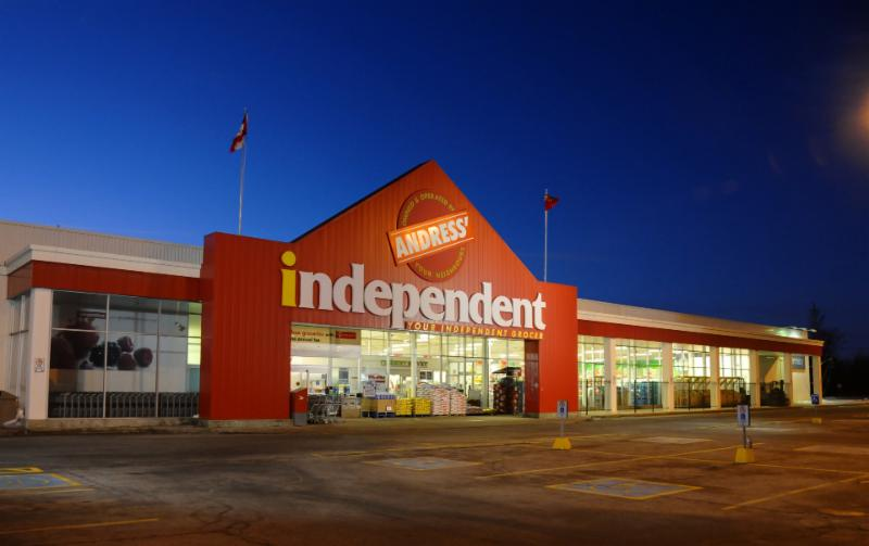 Andress 39 your independent grocer smiths falls on 25 for Independent hotels near me