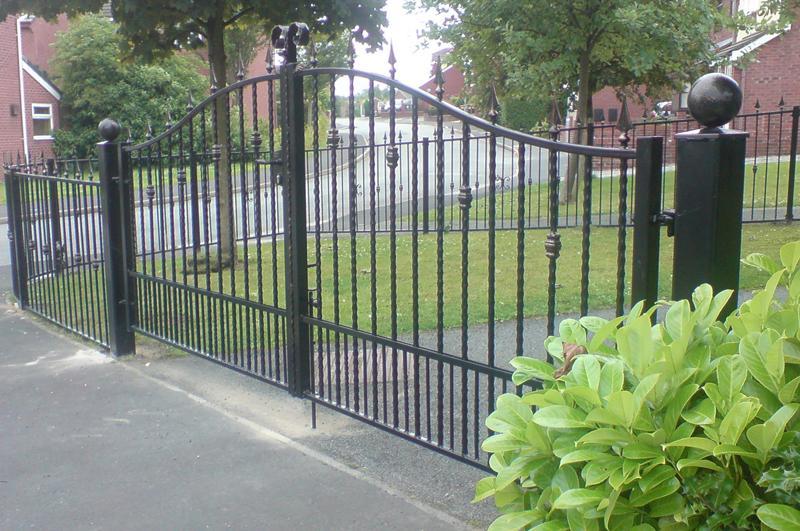 Driveway gated