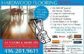 photo AA Floors More Ltd/Alderwood Hardwood Flooring