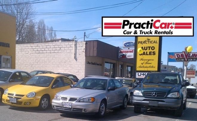practicar car truck rentals victoria bc 743 view st. Black Bedroom Furniture Sets. Home Design Ideas