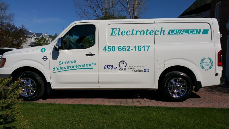 Appareil Electrotech Laval Inc Laval Qc 1505 Rue Du