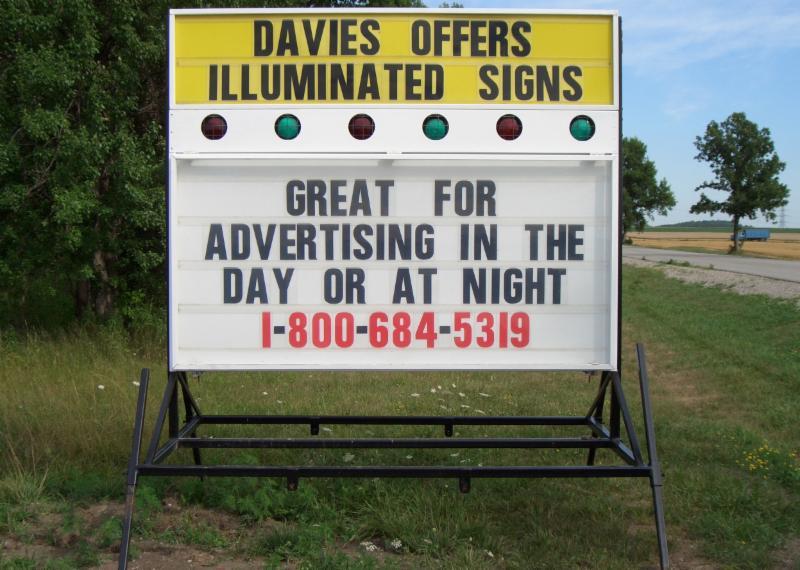 photo Davies Signs