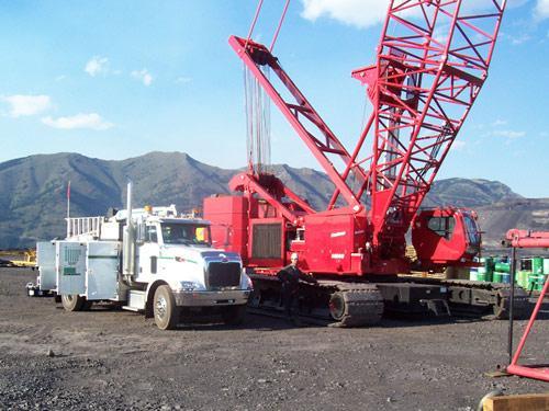 Telescopic Cranes Vancouver : Myshak sales rentals ltd acheson ab