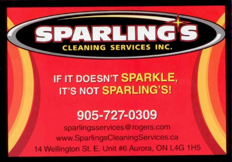 Sparling S Cleaning Services Inc Aurora On 6 14