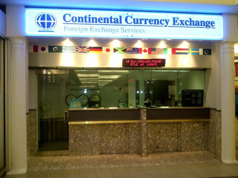 Continental Currency Exchange King Street West in Hamilton