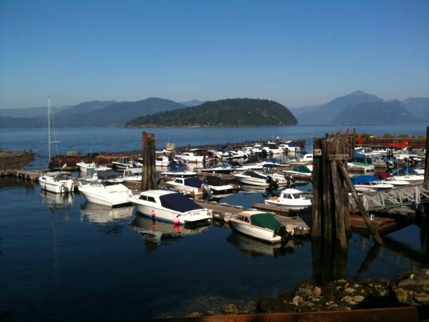 Our Marina on the shores of Howe Sound