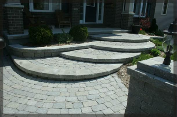 Beautify Your Yard with Creative Stonework          Your imagination is the limit when it comes to creating patios, steps, flower bed walls, retaining walls, and interlocking stone for driveway trim. Ottawa Pavemaster builds unique stonework surfaces.