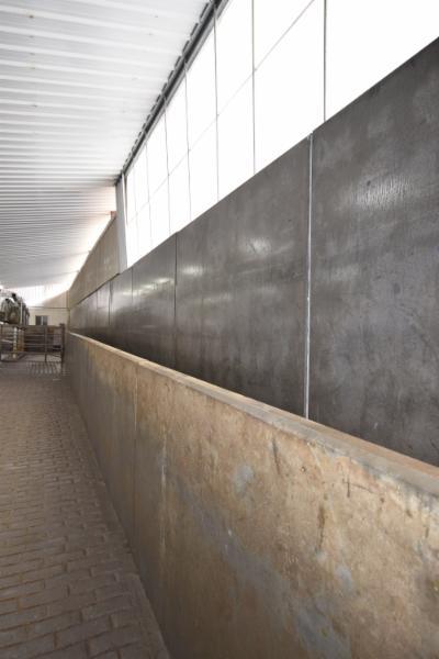 Milking Parlour Return Alley Walls