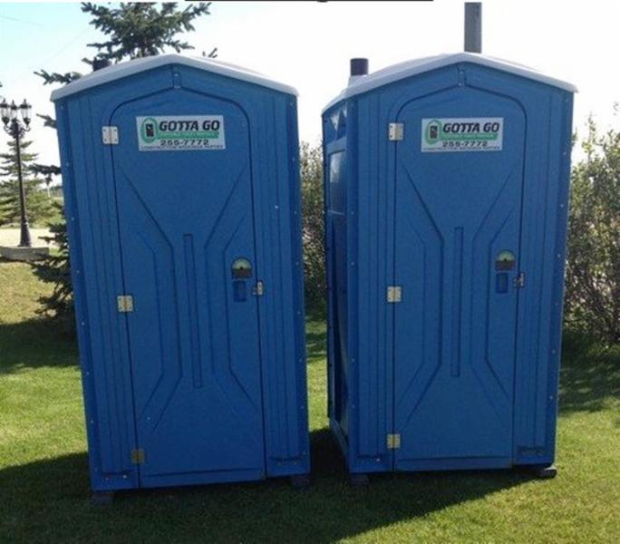 gotta go portable toilet rentals canpages