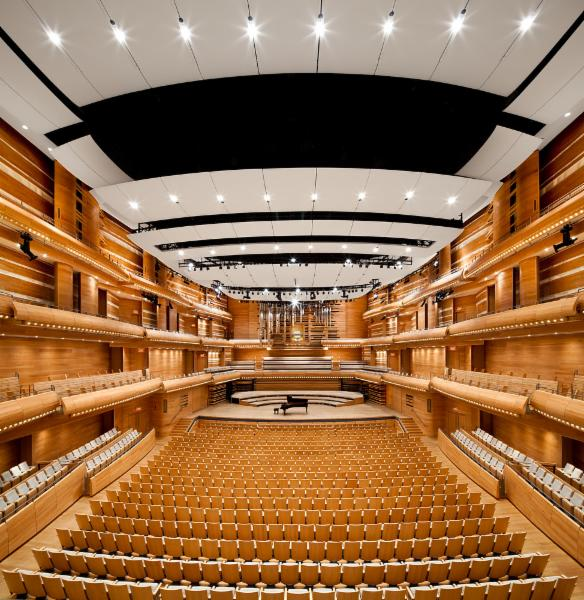 Architecture, encadrement écologique (développement durable) - Maison symphonique, Montréal
