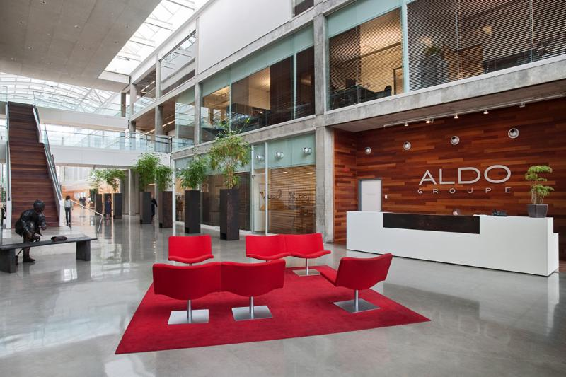 Environnement de travail - Aldo, Montréal      Mettre à jour