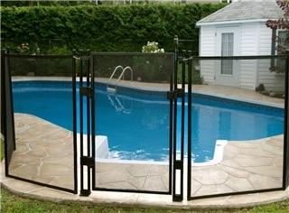 Cl ture de piscine amovible enfant s cure horaire d for Cloture aluminium pour piscine