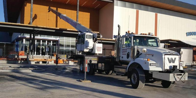 Telescopic Cranes Vancouver : Hastings crane rentals belleville on bellevue dr