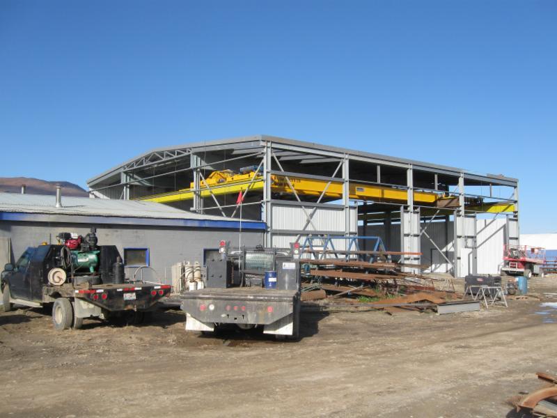 New Shop Construction