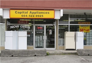 Capital Appliances New Westminster Bc 8 825 Mcbride