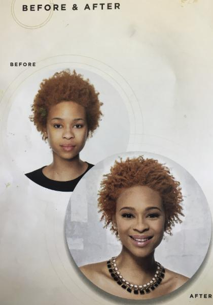 Avlon Texture Release, Before and After