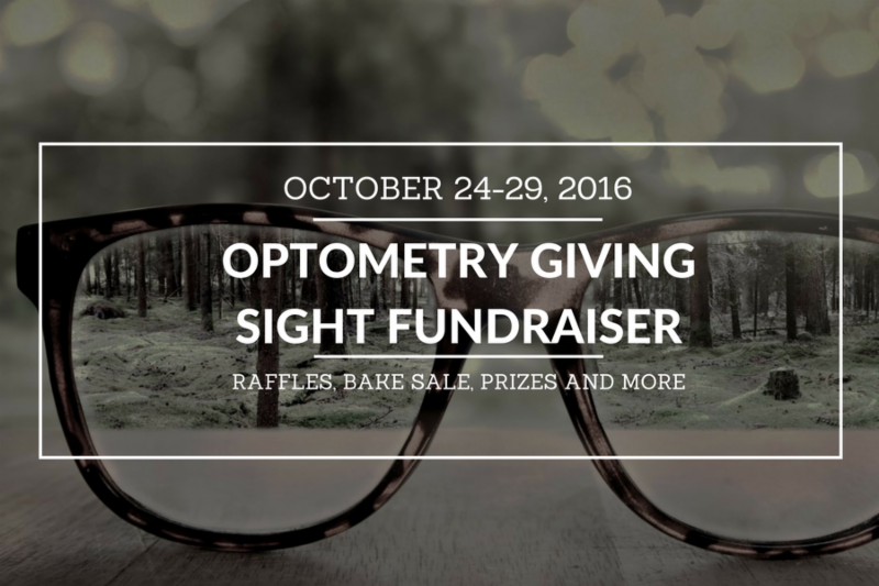 In support of Optometry Giving Sight we will be having a fundraising week. Drop by to purchase raffle tickets, buy a cookie and while you're here have a look at our great selection of frames.