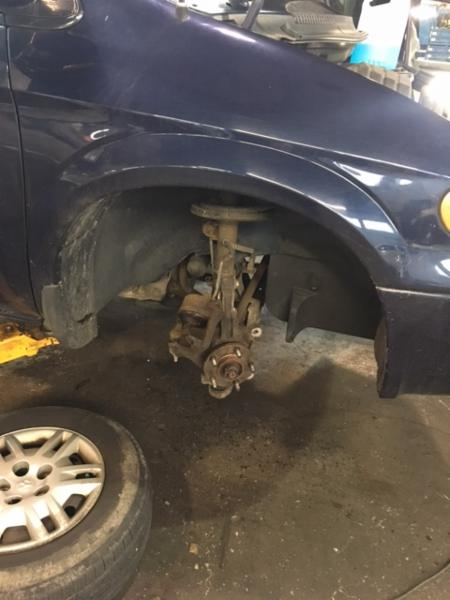 Brake & suspension inspection