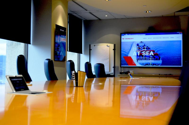 Video conference boardroom