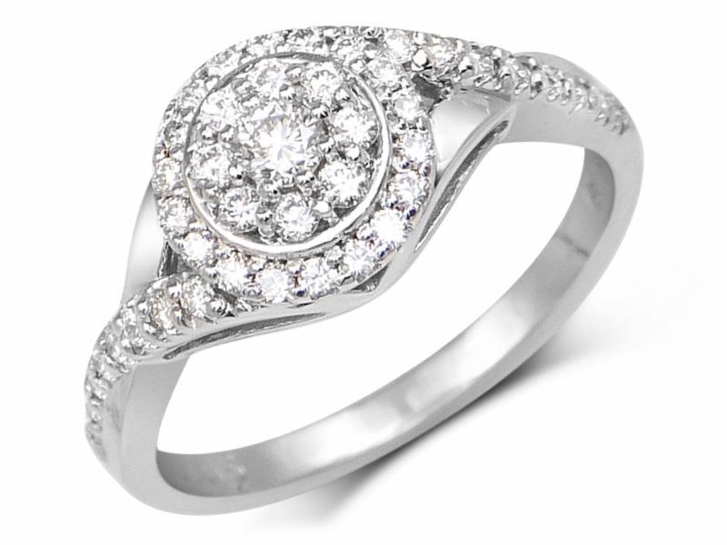 Magnifique bague à diamants     ML 5248