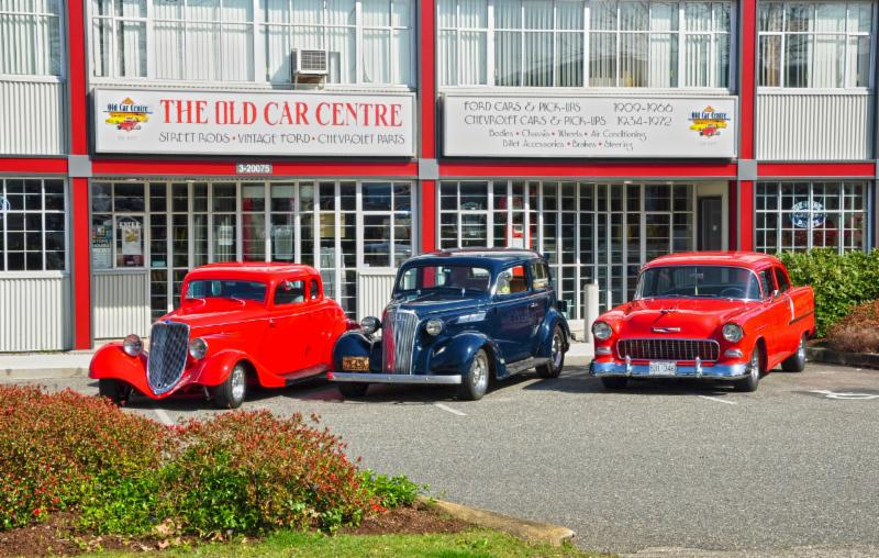 Old Car Centre The Langley Bc