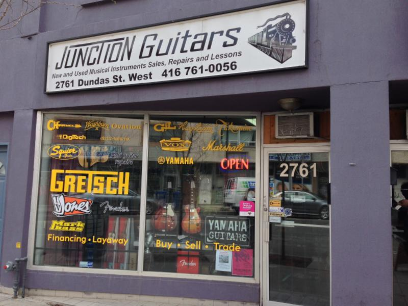 junction guitars opening hours 2761 dundas st w toronto on. Black Bedroom Furniture Sets. Home Design Ideas