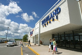 highland square shopping centre marks work wearhouse  glasgow ns  westville