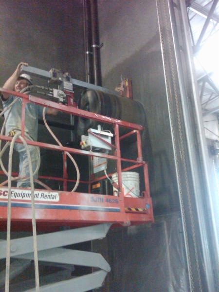 Hydraulic Coring on  Lift