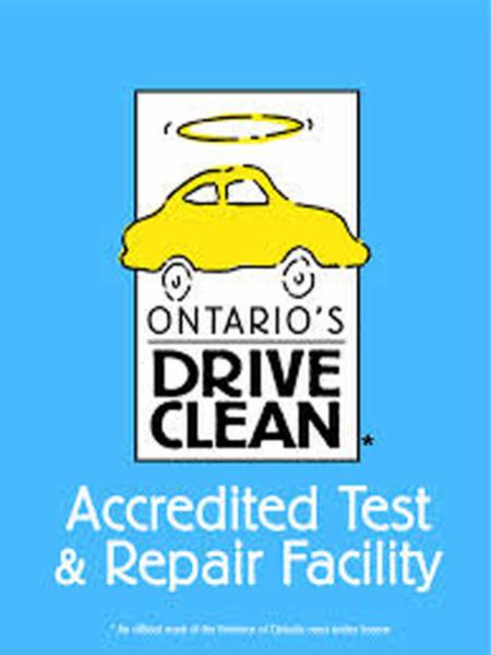 Accredited Drive Clean Test & Repair Facility