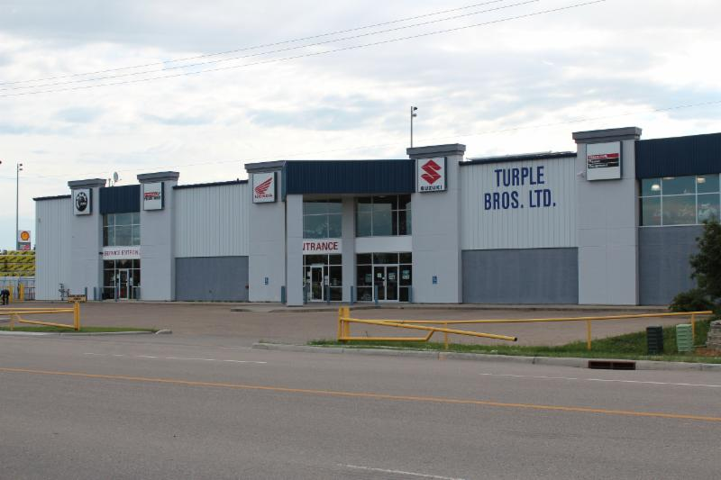 Our new (2001) shop serving Central Alberta, Red Deer and area for over 60 years!