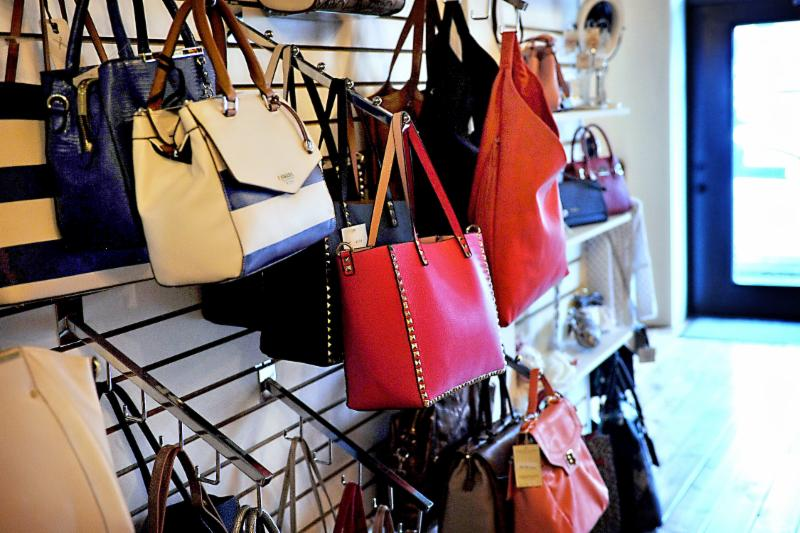 Handbags by Fossil, Anne Klein, Nine West, Pixie Mood, Joanel, Forelli. If you are looking for selection, we have it!