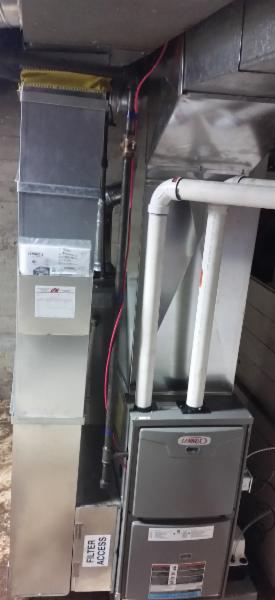 Furnace installation and repair.