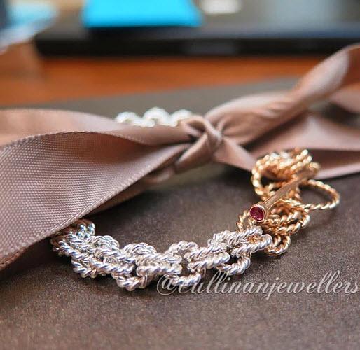 Hand Made Byzantine Bracelet