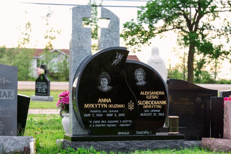Custom Design Memorial installed in All Saints cemetery