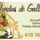 Les Jardins de Gallix Inc - Centres du jardin - 418-766-6977