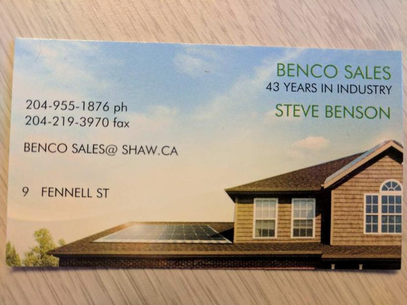 Benco Sales specializes in exterior home renovations and sells a wide variety of other home building ... & Benco Sales - Opening Hours - 9 Fennell Street Winnipeg MB memphite.com
