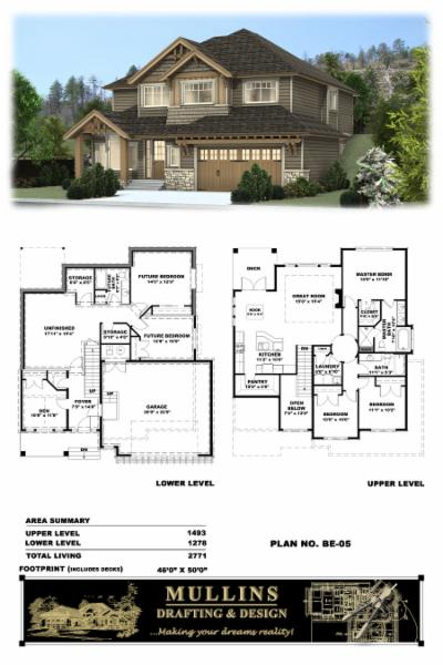 Mullins drafting design inc custom home design for Home designs inc