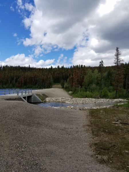 Completed Project     Cabin Lake Dam-Jasper AB 2016