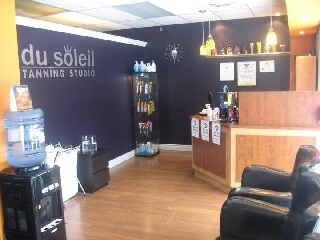 Du soleil tanning studio opening hours 2878 county for Soleil tanning salon