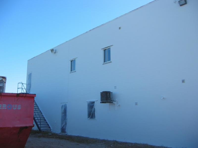 Block Wall Insulated with Ceramic Cover CC-100.
