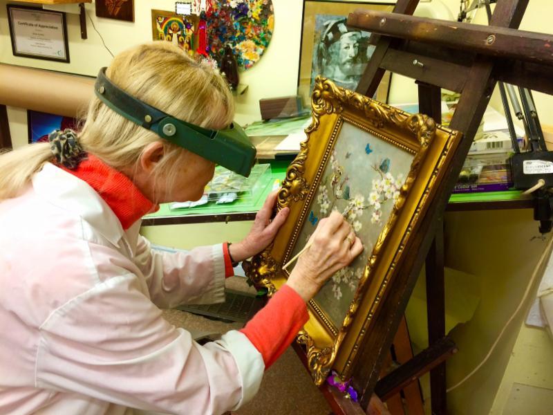 Fine Art Restoration And Conservation. Cleaning and Restoration of Fine Art, Paintings, Sculptures & Antiques. Frame Restoration
